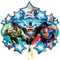 "Justice League Marquee Shape 32"" x 35"""