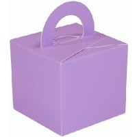 Balloon/Gift Box Lavender x 10pcs