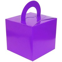 Purple Balloon Weight / Gift Box 10CT