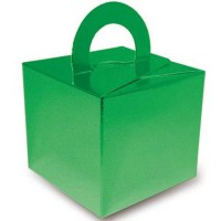 Metallic Green Balloon Weight / Gift Box 10CT