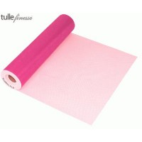 Tulle Finesse 12'' x 25yards Hot Pink