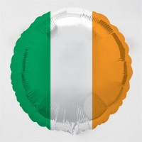 "Irish Flag - 18"" foil balloon"