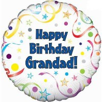 "Happy Birthday Grandad - 18"" Foil Balloon"