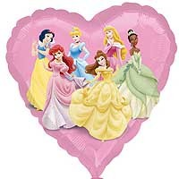 "Disney Princess Street Treat - 18"" foil balloon"