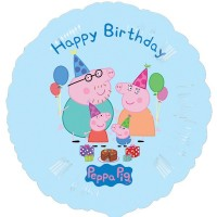 "Peppa Pig Happy Birthday 18"" Foil Balloon"