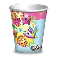 Shopkins Cups - 260ml - 8ct.