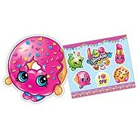 Shopkins Masks &amp: Sticker Sheets - 6 of each
