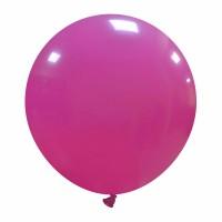 """24"""" Fuchsia Latex Balloon 1ct"""