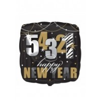 "543210Happy New Year ! 18"" Foil Balloon"