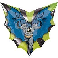 Batman Street Treat Shape - Large Helium Foil Balloon