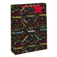 Celebrations Happy Birthday Large Gift Bags 6ct