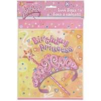 Princess Party Loot Bags 8CT