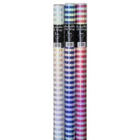 Metallic Gift Wrap 3m 36ct