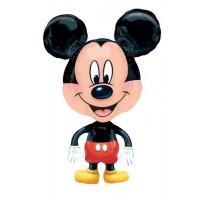 """Mickey Buddie Airwalker 21"""" x 30"""" helium foil balloon"""