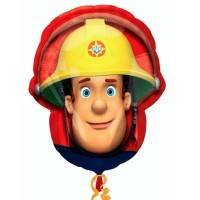 "Fireman Sam Shape 16"" x 20"""
