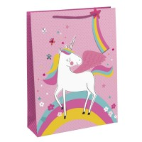 Unicorn Large Gift Bags 6ct