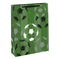 Soccer Ball Theme Large Gift Bags 6ct
