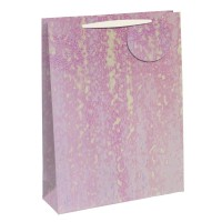 Pretty Pink Pattern Large Gift Bags 6ct