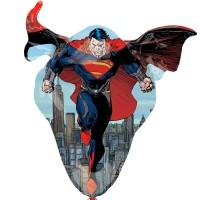 "Superman, Man Of Steel Shape 31"" x 31"""