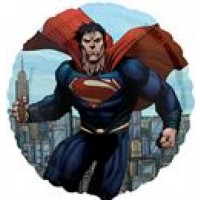 "Superman - Man of Steel - 18"" foil balloon"
