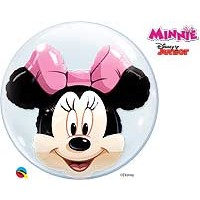 "Disney Minnie Mouse 24"" Double Bubble"