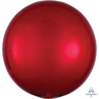 "Red Orbz Balloon 15"" x 16"""