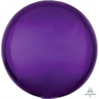 "Purple Orbz Balloon 15"" x 16"""