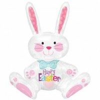 Sitting Bunny Super Shape Balloon