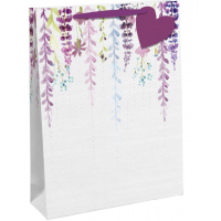 Falling Floral Medium Gift Bags 6ct