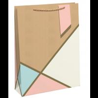 Pastel Kraft Large Bags 6ct