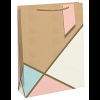Pastel Kraft Medium Bag 6ct