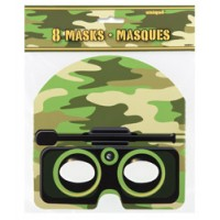 Camo Masks 8ct