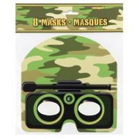 Camo Masks 8ct
