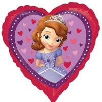 "Sofia The First Love 18"" Foil Balloon"