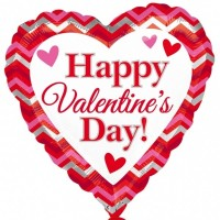 Happy Valentine's Day  18inch Foil