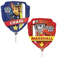 Paw Patrol Mini Shape - Inflated With Cup & Stick