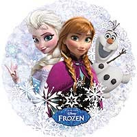 "Frozen 21"" Holographic Street Treat Shape - Large Helium Foil Balloon"