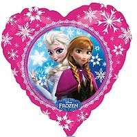 "Frozen Anna & Elsa Street Treat - 18"" foil balloon"