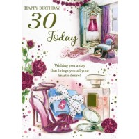 Age 30 - Female - Pack Of 12