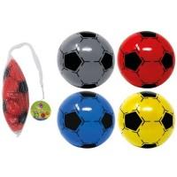 PVC Soccer Football in Net 22.5cm
