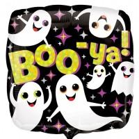 """Boo - Ya! - 18"""" Foil Balloon"""