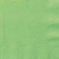 Lime Green Luncheon Napkins 20 CT.