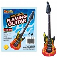 Flaming Guitar Inflatable 106cm