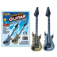 Metallic Inflatable Guitar 106cm