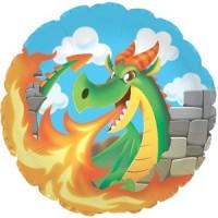 "Dragon - 18"" Foil Balloon"