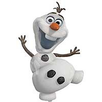 Frozen Olaf Street Treat Shape - Large Helium Foil Balloon