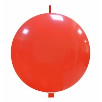 "32"" Light Red Linking Balloon 1Ct"