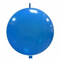 """32"""" Light Blue Linking Balloon 1Ct"""