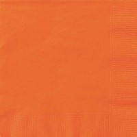 Pumpkin Orange Luncheon Napkins 20 CT.
