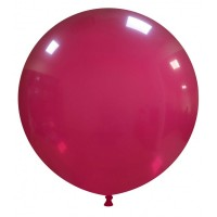 "32"" Burgundy Latex Balloon 1ct"